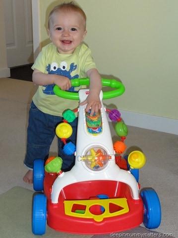 Beanie Boy's New Toy
