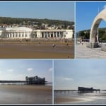This time last week . . . Weston-Super-Mare