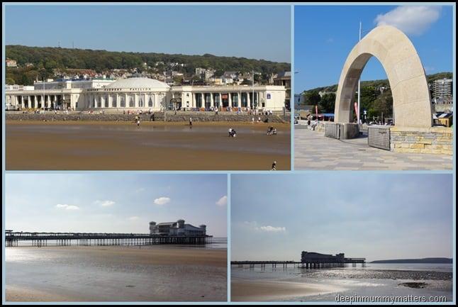 This time last week . . . Weston-Super-Mare