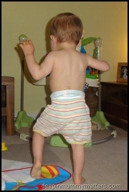 Beanie Boy's a toddler now!