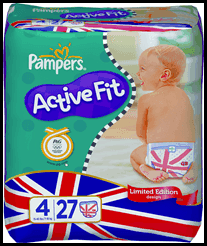 Pampers GB Active Fit
