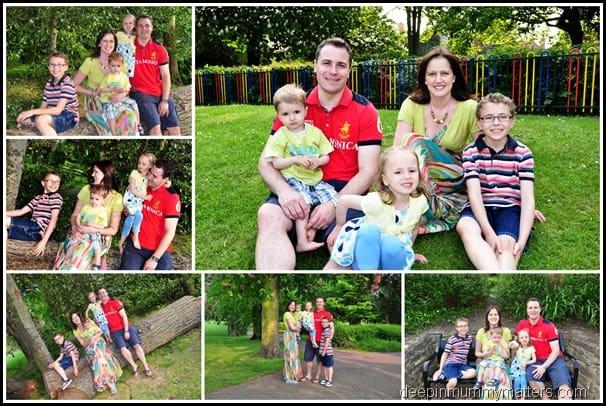 A Family Photo Shoot