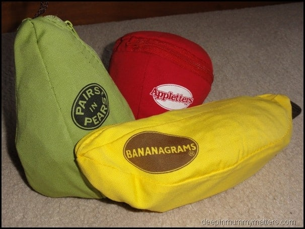 Bananagrams: perfect games for holidays and travels 8
