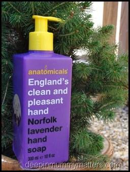 Anatomicals Norfolk Lavender Hand Soap 1