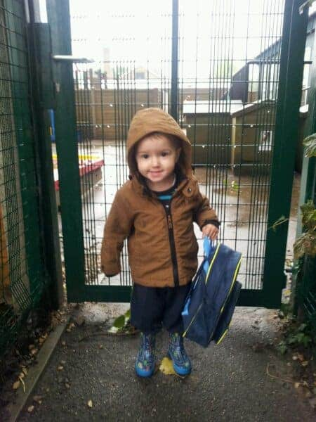 Beanie Boy's First Day at PreSchool