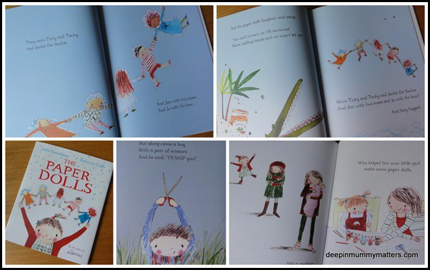 Children's Books: The Paper Dolls and Zoe and Beans: Hello Oscar! 5