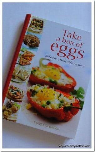 Review: Take a box of eggs Cookbook + Recipe 1