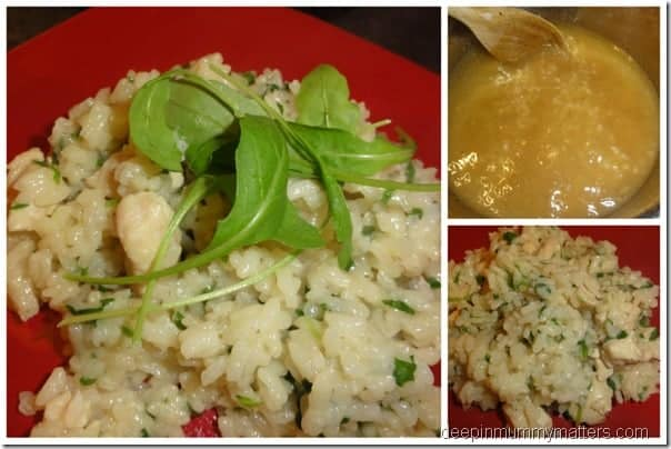 Lemon Chicken Risotto