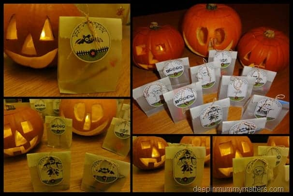 Halloween Crafts from Stampin Up!
