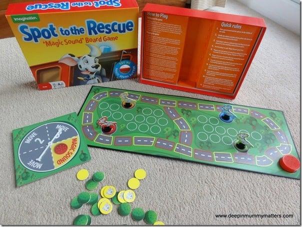 Magic Sound Board Game