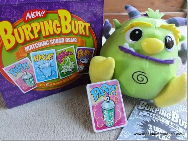 Burping Burt – The Matching Sound Game