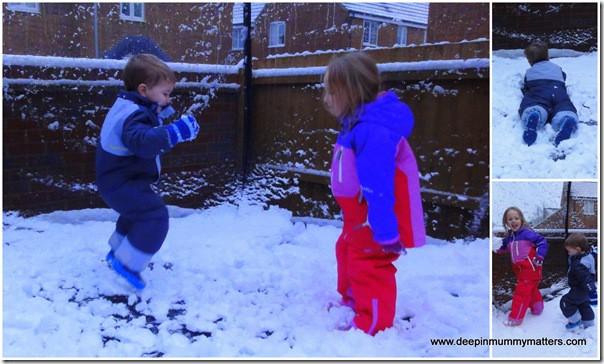 We had snow much fun in our KoziKidz gear!!