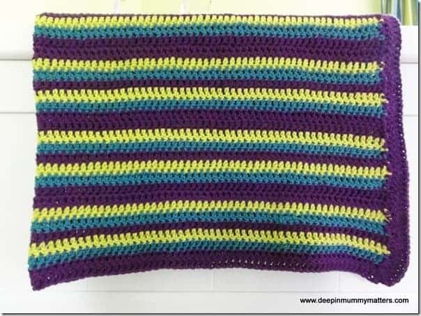 007/365-2013 – My first completed crochet project!