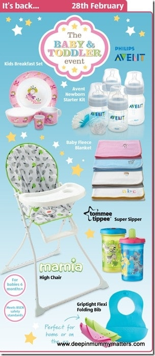 Grab a bargain in the Aldi Baby & Toddler Event