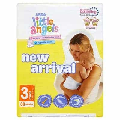 Review: Little Angels Nappies by Asda
