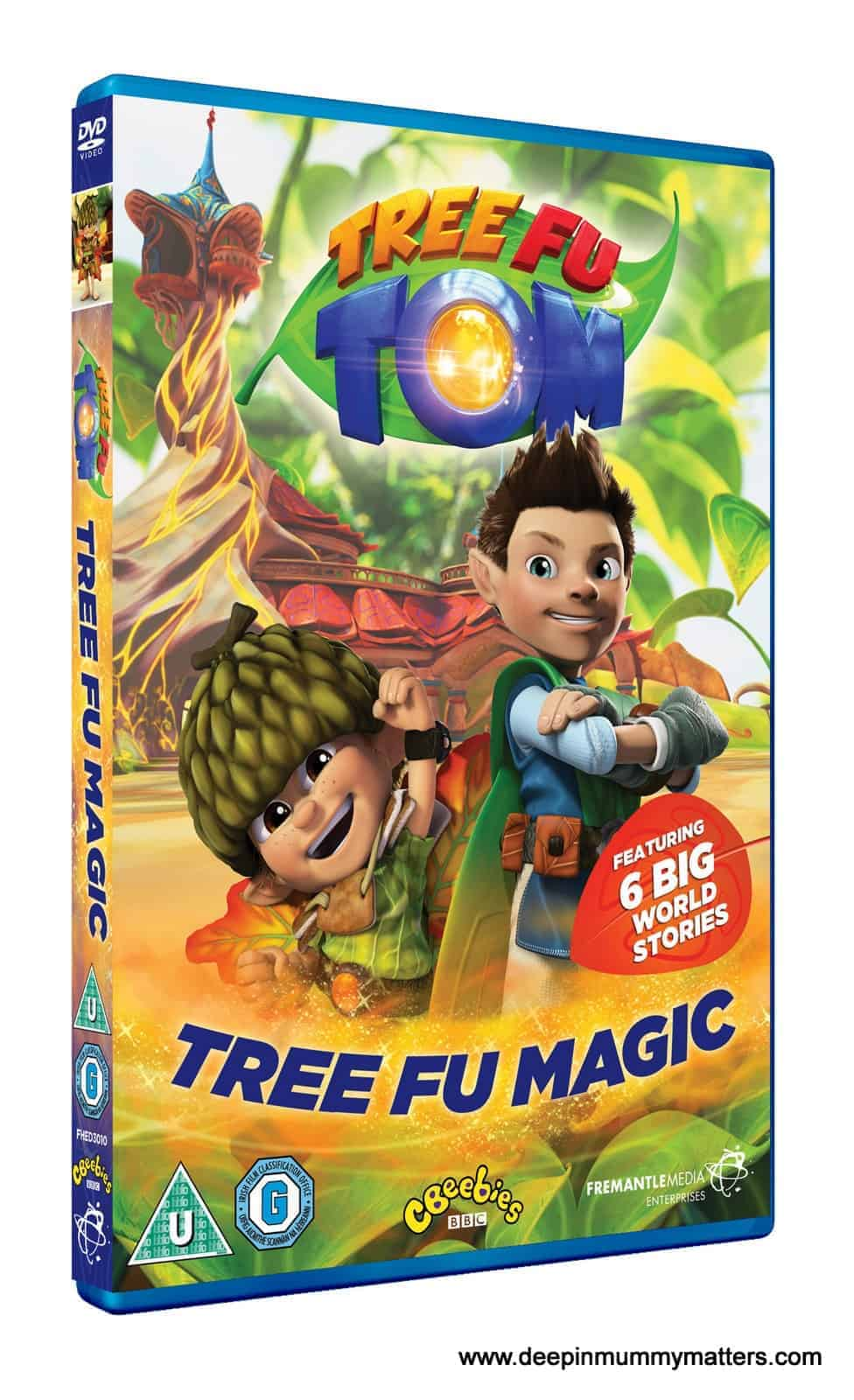 Review: Tree Fu Tom: Tree Fu Magic DVD