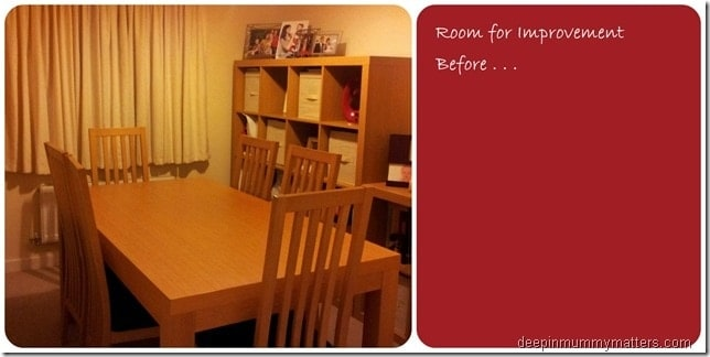 Our £50 Dining Room Revamp
