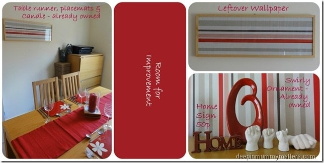 Our 50 dining room revamp mummy matters for Dining chairs t k maxx