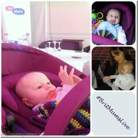 Attending #BritMumsLive with a baby . . . 2