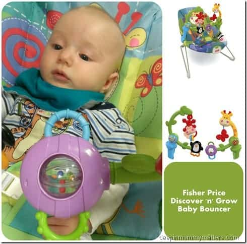 Review: Fisher Price Discover n Grow Baby Bouncer 1