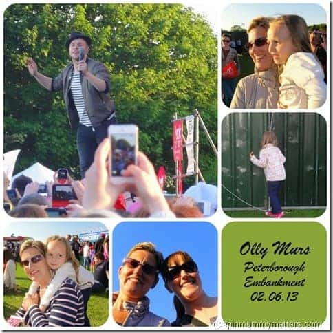 A girl's night out at Olly Murs Concert!