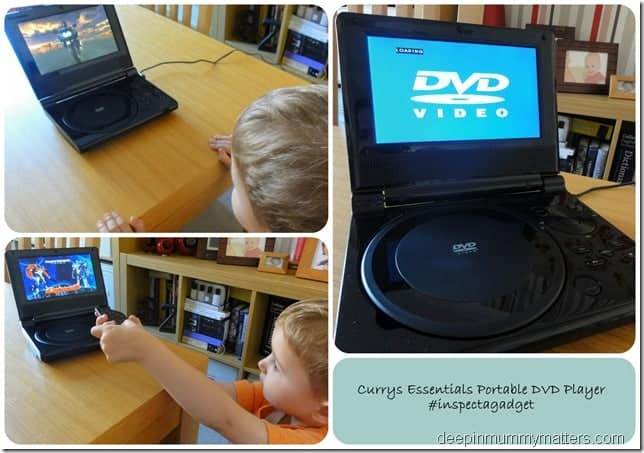 Review: Currys Essentials Portable DVD Player with Screen 1