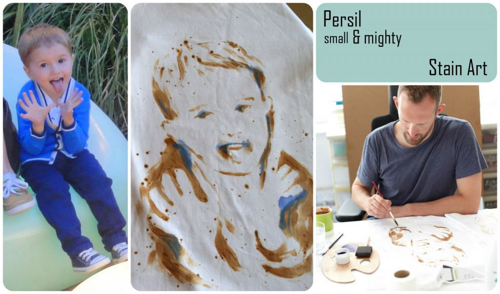 Persil Stain Art