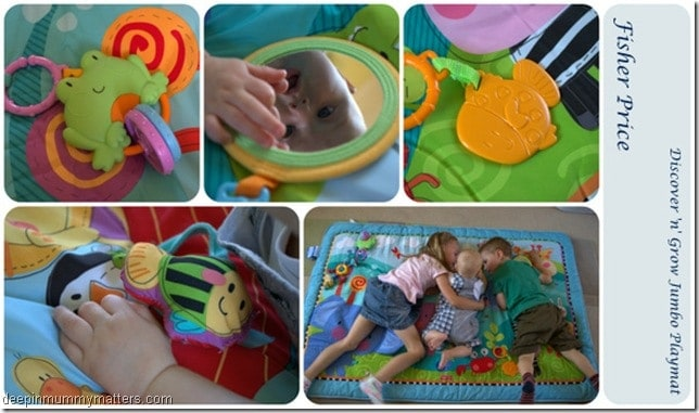 Review: Fisher Price Discover 'n' Grow Jumbo Playmat 1