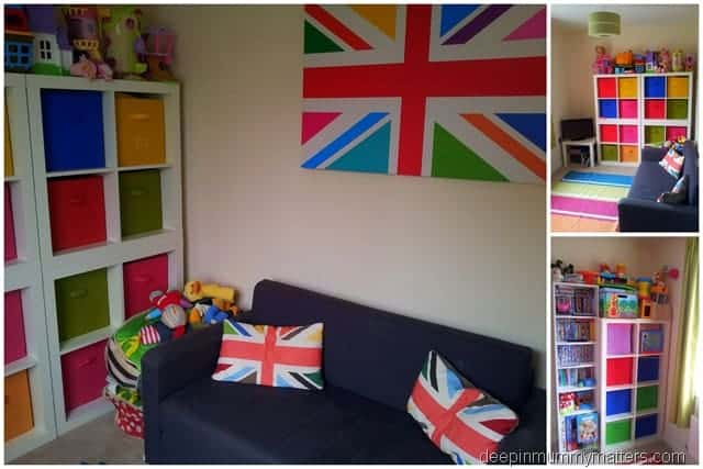 Creating a playroom on a budget 5