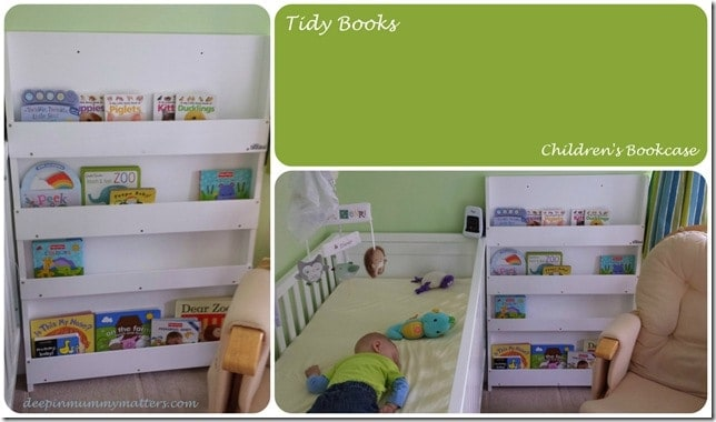 tidy books children s bookcase discount code and giveaway mummy matters. Black Bedroom Furniture Sets. Home Design Ideas