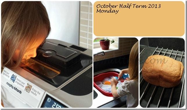 October Half Term 2013 – Monday 1