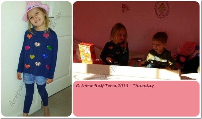 October Half Term 2013 – Thursday