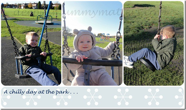 A Chilly Day At The Park . . .