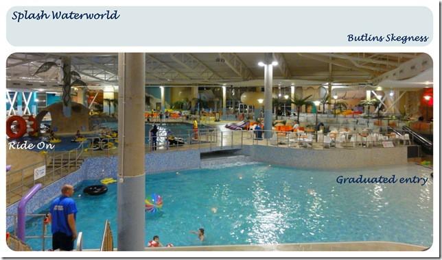 All new Splash Waterworld at Butlins Skegness is . . .