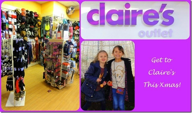 Get to Claire's this Xmas!