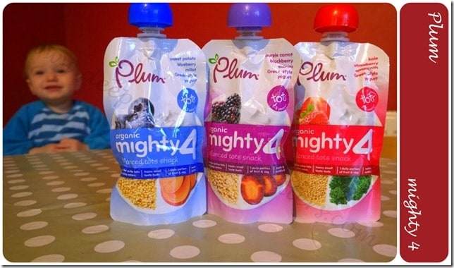 Plum Mighty 4 – Super Snacks for Mini Mouths and Fussy Eaters 1