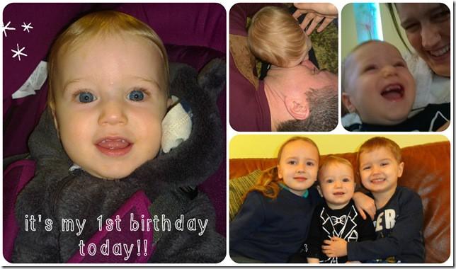 Jelly Bean's 1st Birthday Celebrations 2