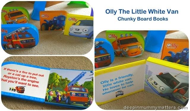 Olly The Little White Van Books 3