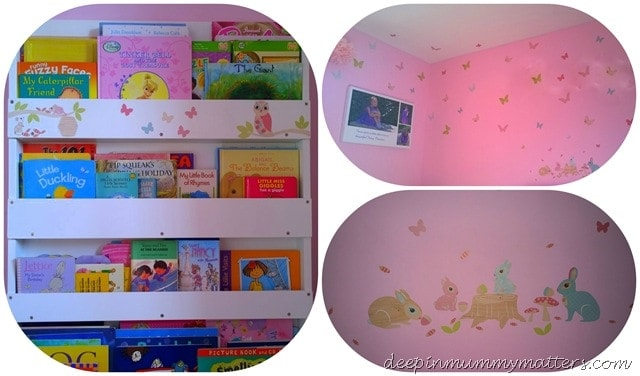 Little Bean's Bedroom Makeover with Wall Stickers 1
