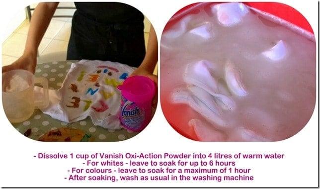 Vanish Oxi-Action