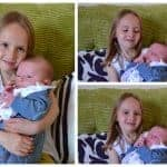 Easter Holidays – Day 10 – The Beans meet their new baby cousin