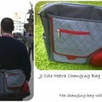 JJ Cole Metra Changing Bag – Great for Dads