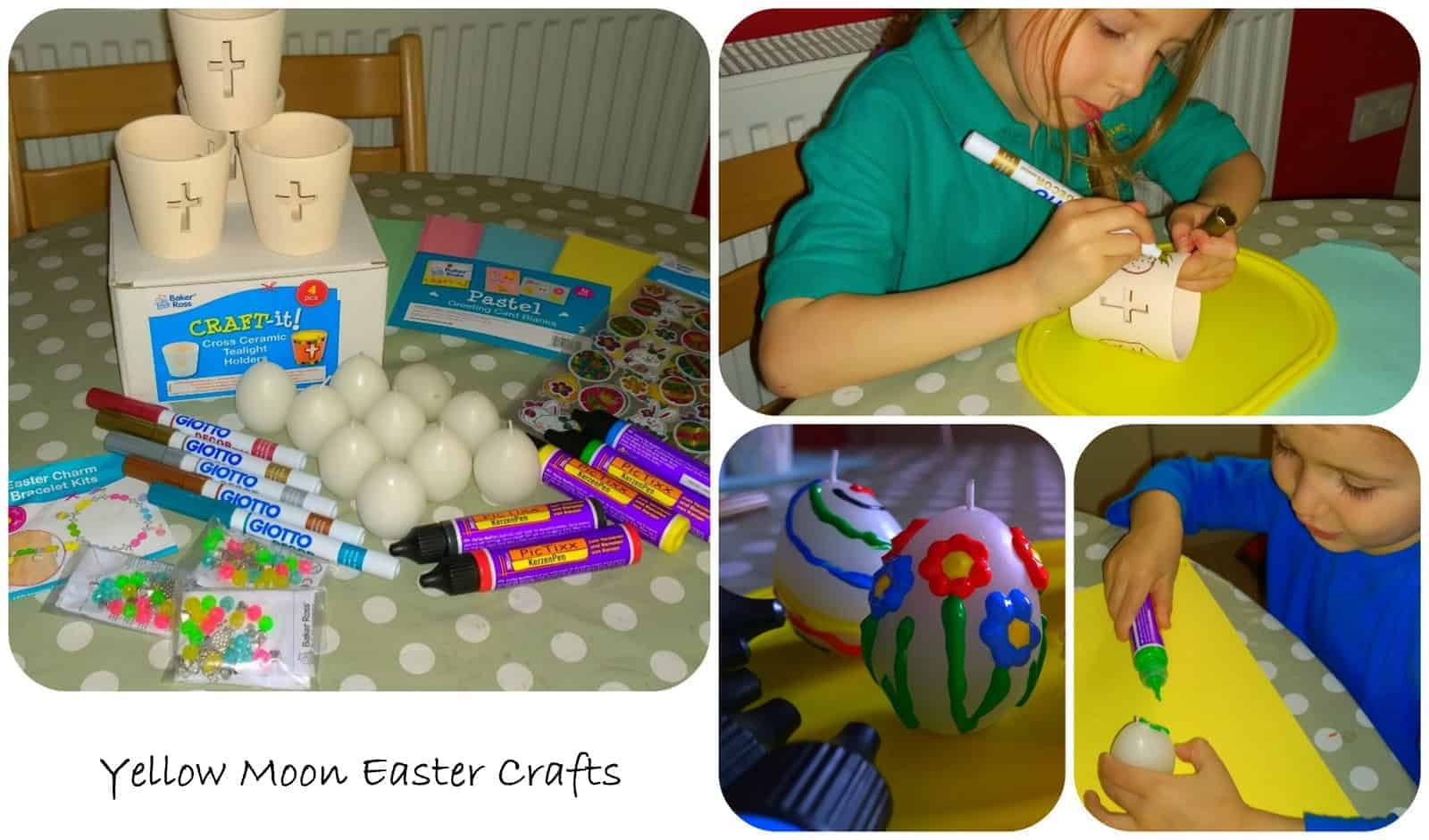 Easter Holidays Day 1 – Yellow Moon Easter Crafts
