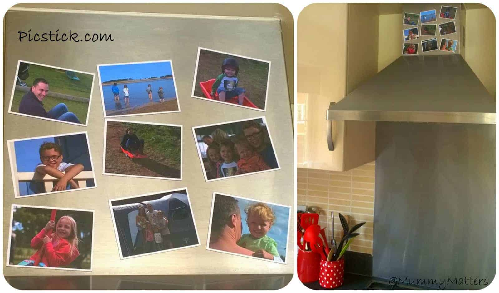 Picstick: Personalised Photo Magnets