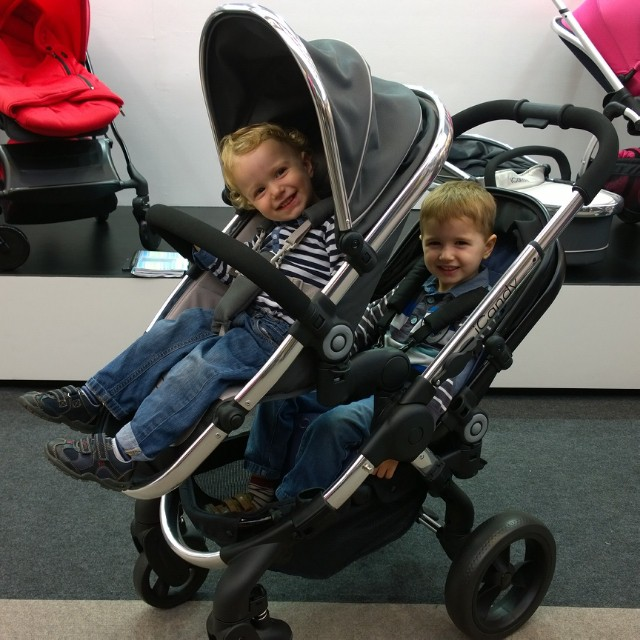The iCandy Peach3Blossom was a winner with my boys @TheBabyShow #iCandyAW14