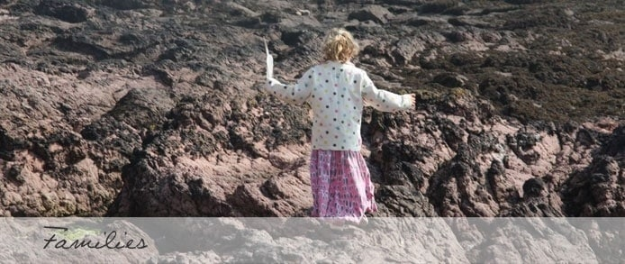 Child in Cornwall