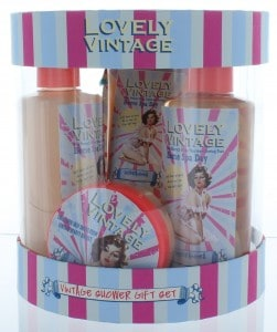 Lovely Vintage Bodycare Oval Set