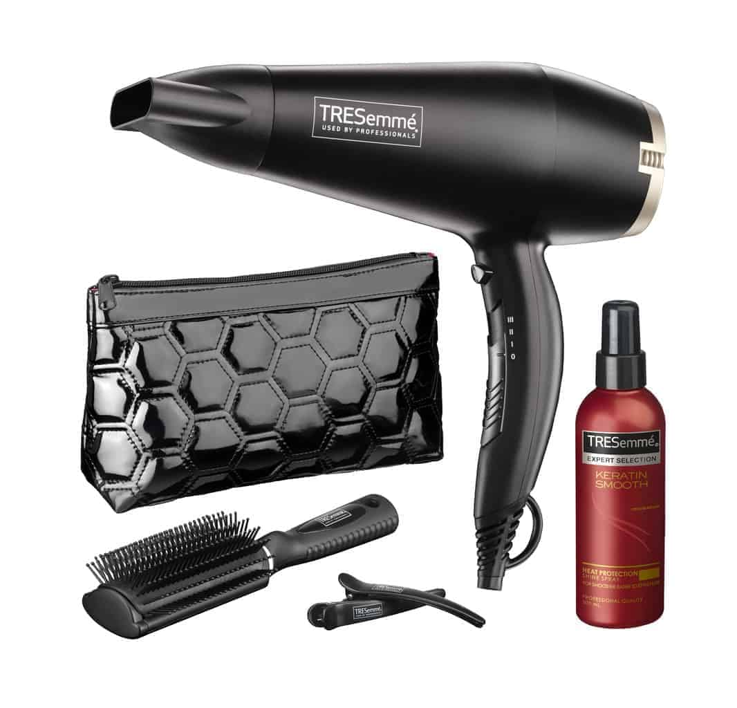 TRESemmé Smooth and Shine Dryer Gift Set.