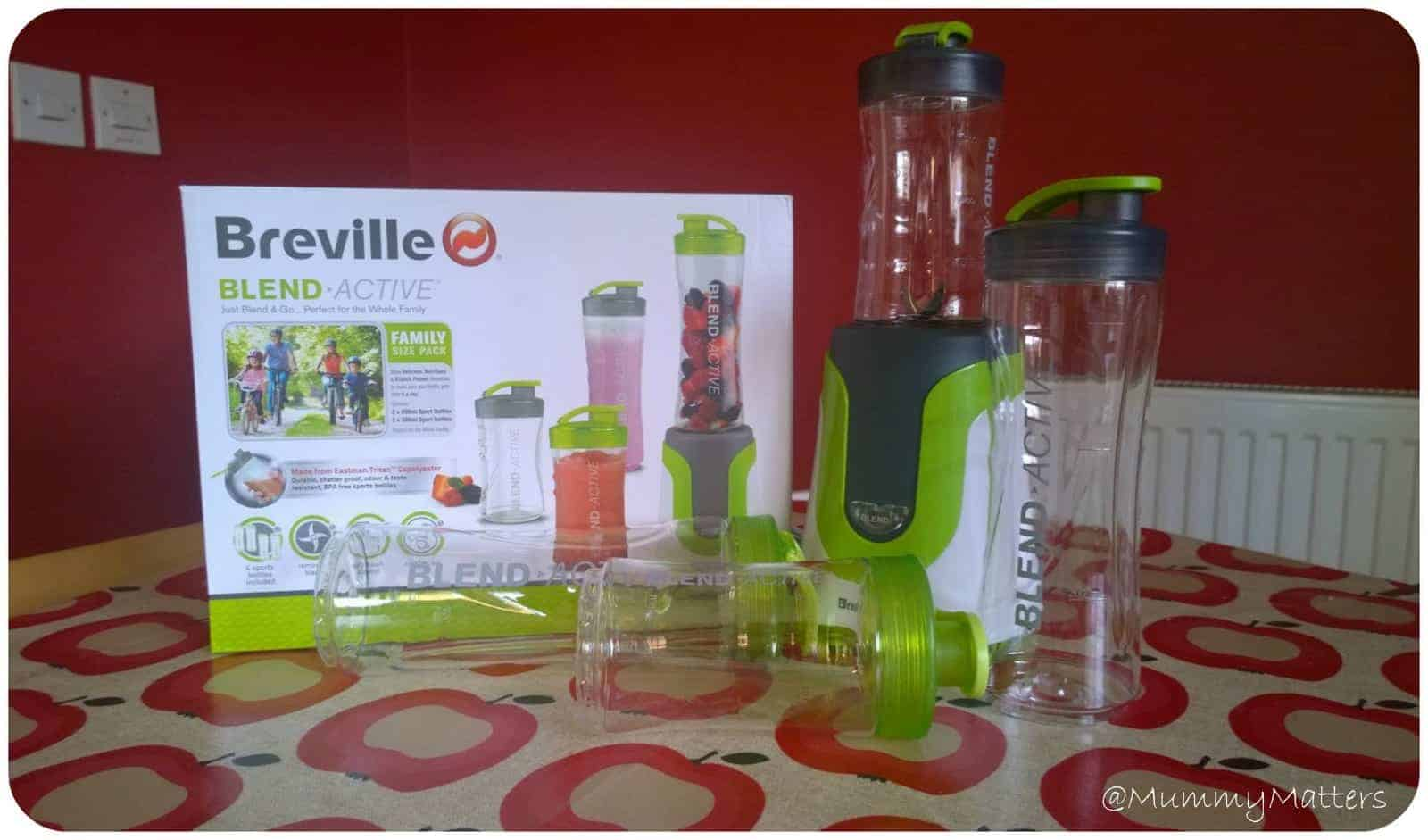 Back on the health kick with Breville Blend Active
