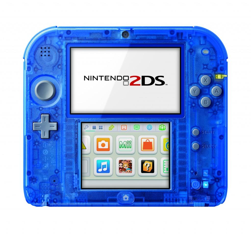 Transparent Blue 2DS